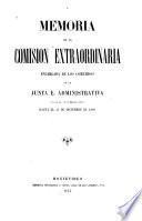 Memoria, 31 de marzo 1865-31 de dic. 1866, 15 de oct. 1871-31 de dic. 1872