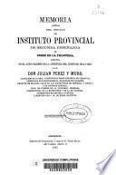 Memoria acerca del estado del Instituto de Segunda Enseñanza de Jerez de la Frontera