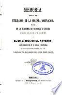 Memoria acerca las utilidades de la segunda vacunación, leída en la Acad. de Medicina y Cirugía de Barcelona en la sesión del 1ode marzo de 1841