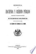 Memoria de hacienda y crédito público