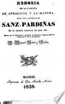 Memoria de la campaña de Andalucía y La Mancha por los generales Sanz y Pardiñas en el primer semestre de este año