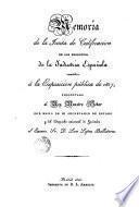 Memoria de la Junta de Calificación de los productos de la Indusria Espanola remitidos à la Exposición pública de 1827