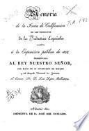 Memoria de la Junta de Calificación de los productos de la Industria Española