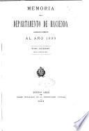 Memoria de la Secretaría de Estado de Hacienda correspondiente al ejercicio ...