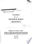 Memoria de la Sociedad Rural Argentina