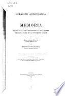 Memoria de los trabajos y experiencias realizadas desde mayo de 1912 á diciembre de 1913