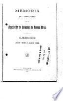 Memoria del Directorio del Mercado de Cereales á Término de Buenos Aires