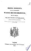 Memoria descriptiva de la isla dinamarquesa de Santa Cruz de Barlovento, en Las Antillas