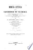 Memoria história de la Universidad de Salamanca