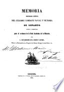 Memoria histórico-crítica del célebre combate naval y victoria de Lepanto