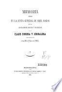 Memoria leida en la Junta general de Sres. socios de la Asociacion de Socorro y Proteccion á la Clase Obrera y Jornalera celebrada el dia 26 de febrero de 1865