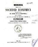 Memoria presentada a la Real Sociedad Economica de amigos del pais de Jerez de la Frontera