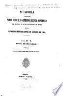 Memoria presentada por el Ilmo. Sr. D. Cipriano Segundo Montesino, como indivíduo de la comisión encargada del estudio de la Exposición Internacional de Londres de 1862