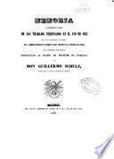 Memoria que comprende el resumen de los trabajos verificados en el año de 1853 por las diferentes secciones de la Comisión encargada de formar el Mapa Geológico de la provincia de Madrid y el general del Reino