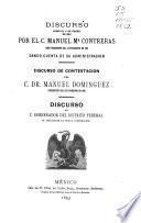 Memoria que el Ayuntamiento constitucional ... presenta para conocimiento de sus comitentes