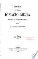 Memoria que el C. General de Division ... Ministro de Guerra y Marina presenta al ... Congreso Constitucional