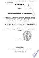 Memoria sobre la estracción (sic) de la placenta, presentada á la Academia Quirúrjica Matritense...