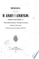 Memoria sobre las minas de Almaden y Almadenejos