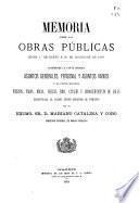Memoria sobre las obras públicas...
