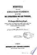 Memoria sobre los baños acídulo-salinos-sulfhídricos de la villa de Lucainena de las Torres