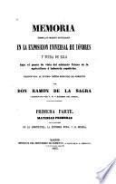 Memoria sobre los objetos estudiados en la Exposición universal de Lóndres y fuera de Ella bajo el punto de vista del adelanto futuro de la agricultura é industria españolas