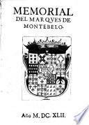 Memorial del Marques de Montebelo