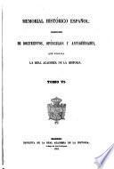 Memorial Histórico Espanol; Colección de Documentos, Opúsculos y Antigüedades