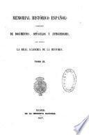 Memorial historico espanol