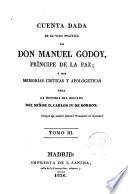 Memorias Críticas y Apologéticas para la Historia del S.D. Carlos IV de Borbón
