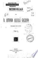 Memorias de D. Antonio Alcalá Galiano
