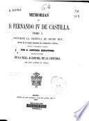 Memorias de D. Fernando IV de Castilla