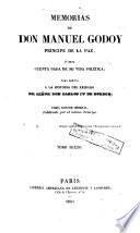 Memorias de don Manuel Godoy, Príncipe de la Paz, ó sea cuenta dada de su vida política, para servir a la historia del reinado del señor don Carlos IV de Borbón, 6