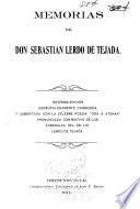 Memorias de don Sebastian Lerdo de Tejada