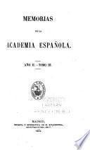Memorias de la Academia Española