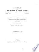 Memorias de la Real Academia de Ciencias y Artes de Barcelona