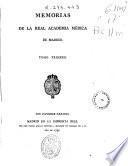 Memorias de la Real Academia Médica de Madrid