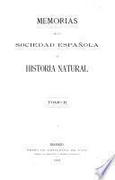 Memorias de la Real Sociedad Española de historia natural