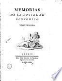 Memorias de la Sociedad Economica