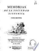 Memorias de la Sociedad Económica