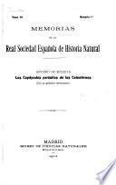 Memorias de la Sociedad Española de Historia Natural