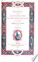 Memorias de la vida del Excmo. Señor D. José García de León y Pizarro