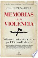 Memorias de la violencia