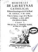 Memorias de las Reynas Catholicas de España