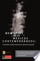 Memorias de los mexicos contemporáneos