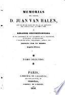 Memorias del coronel d. Juan van Halen