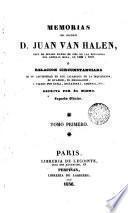 Memorias del coronel Halen ó Relación circustanciada de su cautiverio en los calabozos de la Inquisición, 1