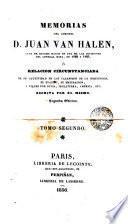 Memorias del coronel Halen ó Relación circustanciada de su cautiverio en los calabozos de la Inquisición, 2
