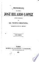 Memorias del general José Hilario Lopez