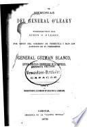 Memorias del general O'Leary, publ. por S.B. O'Leary