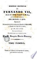 Memorias historica sobre Fernando VII..., 1